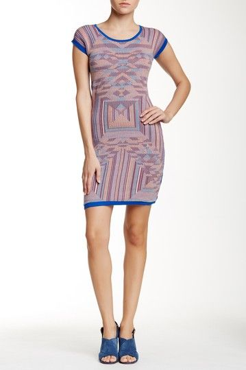 Printed Front Knit Dress by lavand. on @HauteLook
