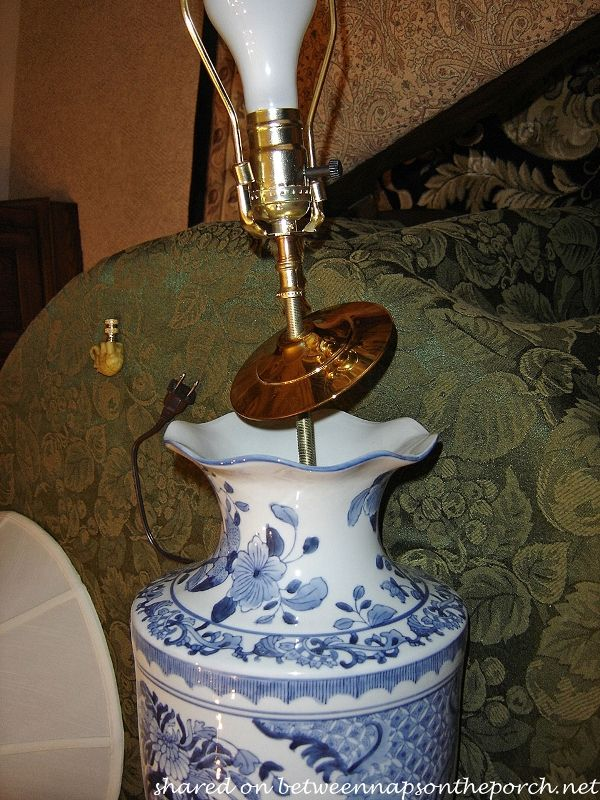 Make A Lamp From A Beautiful Vase Or Figurine Craft