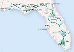 Florida National Scenic Trail Map | Florida National Scenic ...