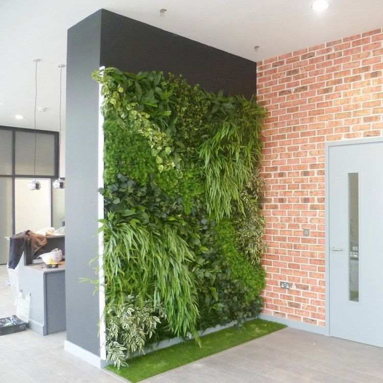 Jardim vertical artificial ikea