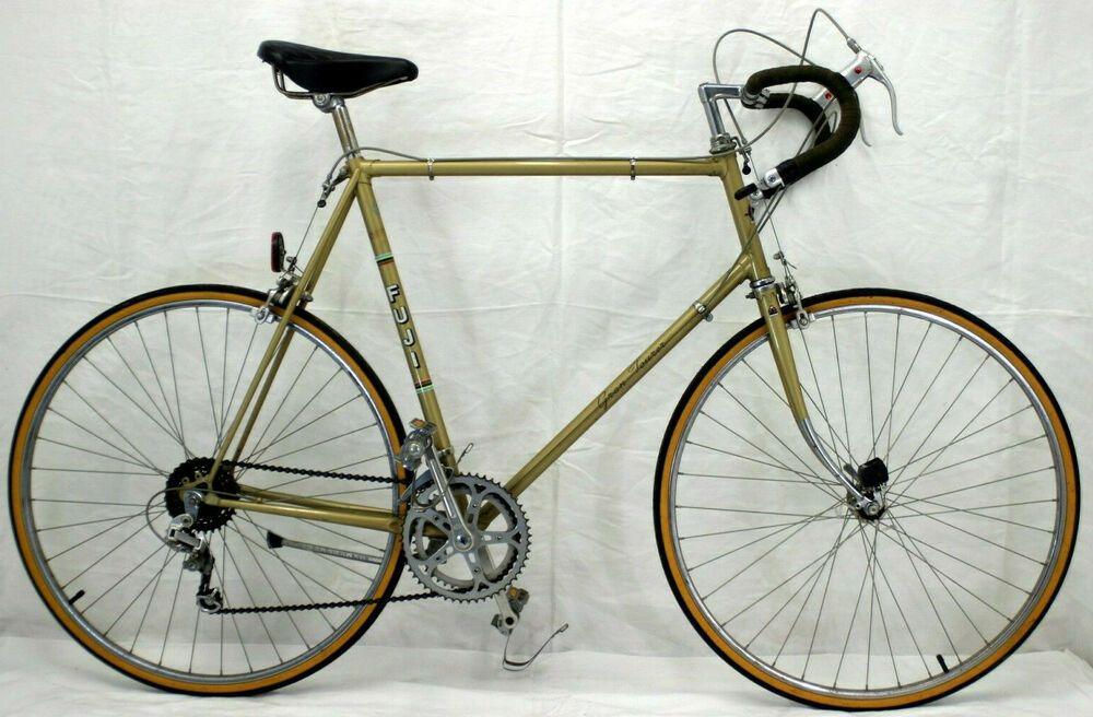 Fuji Gran Tourer Vintage Touring Bike Xl 64cm Suntour Dia Compe Steel Charity Fuji Touring Bike Bike Road Bike Vintage