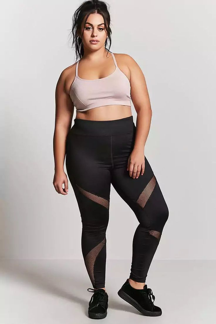 Plus Size Active Bralette | Forever21 | Athleisure trend