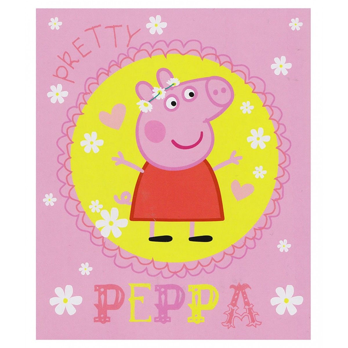 Peppa Pig Pretty Blanket (With images) Pretty blankets