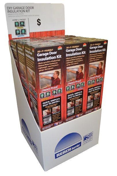 Air reflective garage door insulation kit garage door insulation reach barrier air reflective garage door insulation kit 3009 the home depot solutioingenieria Choice Image