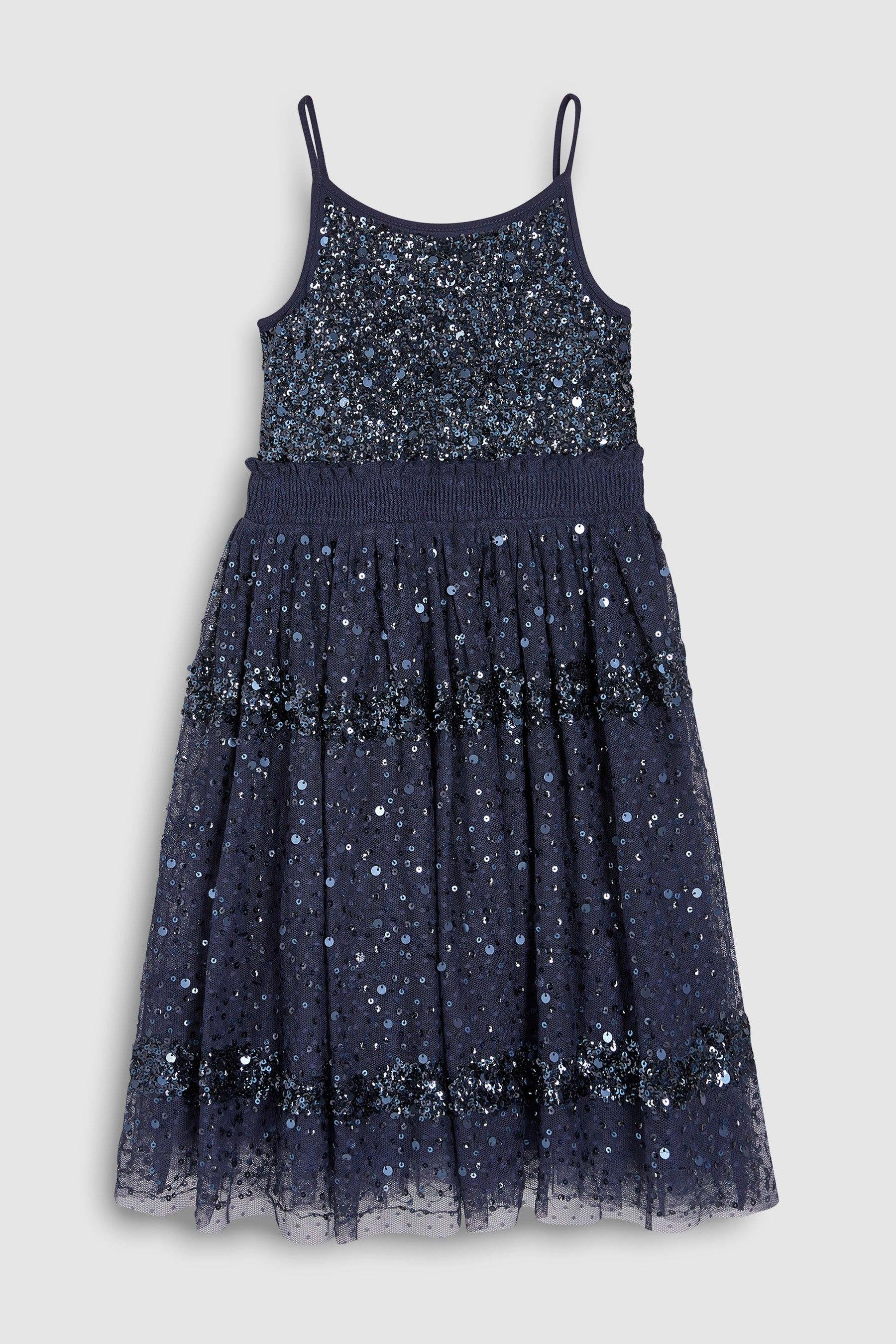 982cb00281ca Girls Next Navy Sequin Dress (3-16yrs) - Blue