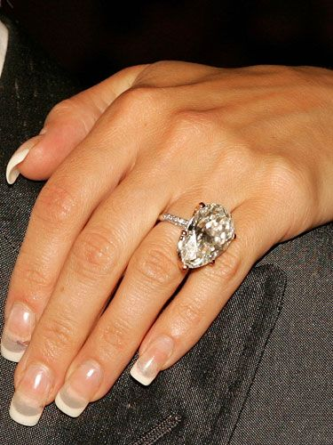 A List Bling Celebrity Engagement Rings Victoria Beckham