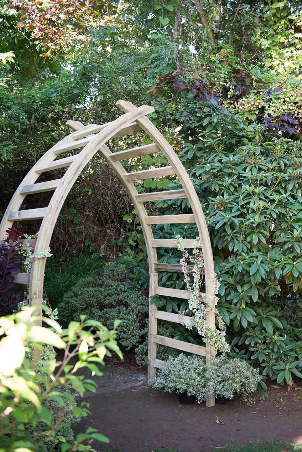 Diy garden ideas pinterest  whitby arch forest garden  DIY Garden Ideas  Pinterest  Garden