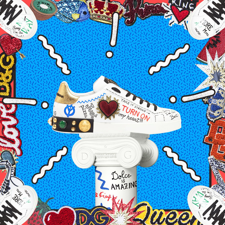 #DGSneakers are coming very soon in the new Dolce&Gabbana Boutique in Via Della Spiga 1, Milan.  #DGSPIGA1 #DGYOURSELF #DGMillennials