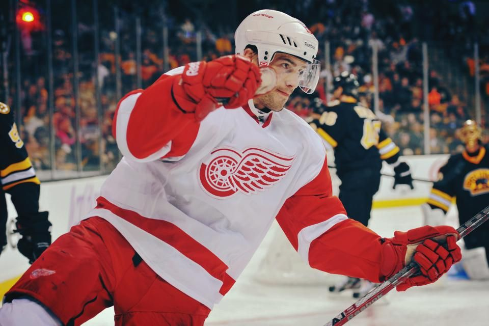 Pavel Datsyuk. The most beautiful hands in the show.