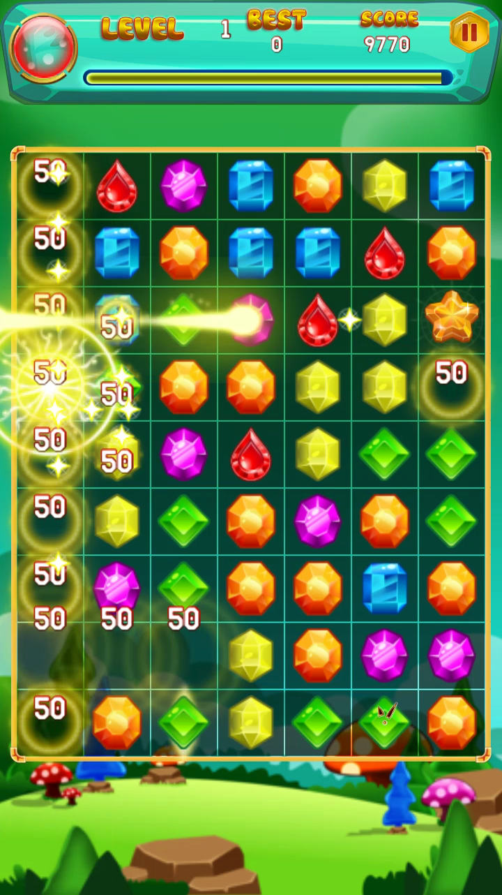 Top 1 Jewel Game on Google play store JewelQuest