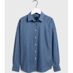 Photo of Gant Oversized Tech Prep™ Ocean Prep™ Indigo Bluse (Blau) Gant