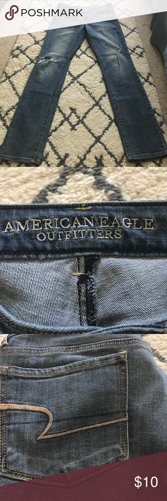 AE Jeans Light wash American Eagle Outfitters Jeans Skinny