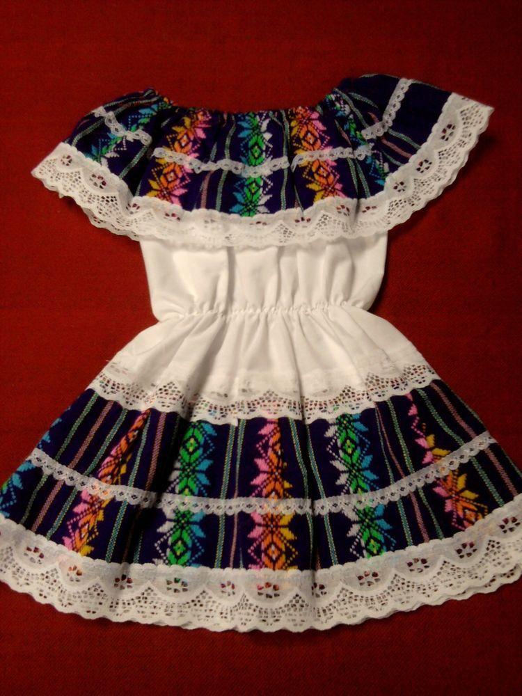 Ethnic Mexican Traditional Dress Folklorico Dance Cinco De Mayo