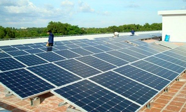 Vietnam Swd Green2stay Rooftop Photovoltaic Panels In Vietnam Photo Mai Vong Solar Photovoltaic Panels Best Solar Panels