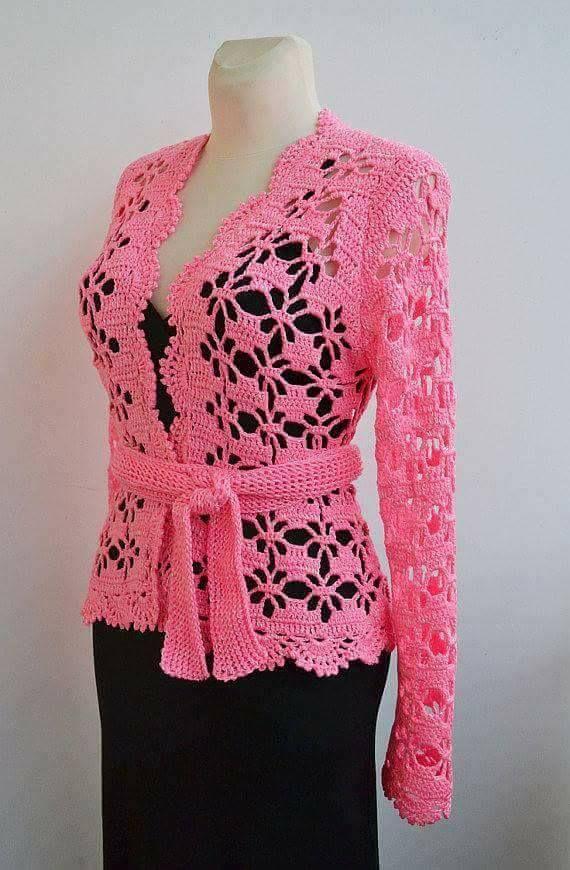 2) Vente de crochet | Вяжем красиво | Pinterest | Chaquetas, Tejido ...