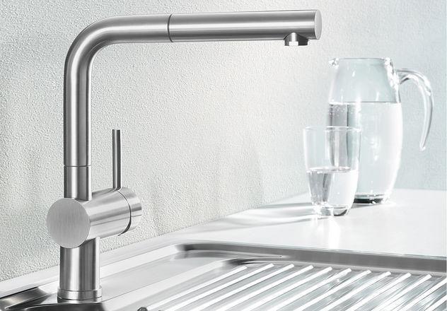 Küchenarmatur Blanco Linus-S HD chrom (512402) Küchen Pinterest