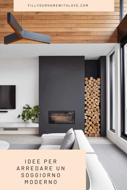 Idee per arredare un soggiorno moderno ...