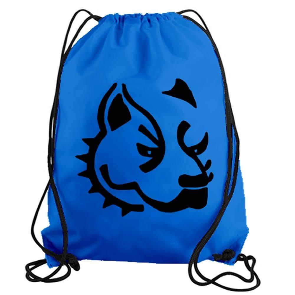 Bulldog Drawstring Gym Bag Tote