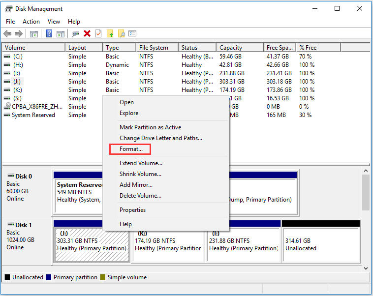 Pin On Disk Partition Manager