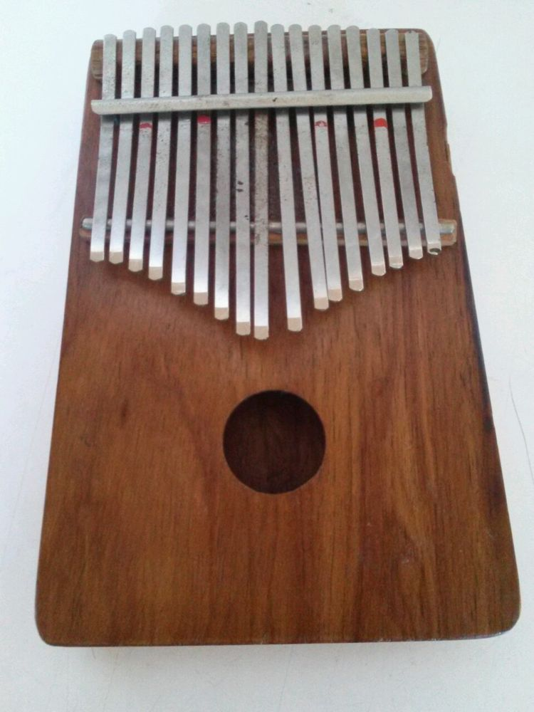Vintage Hugh Tracey Kalimba Made In South African 17 Note