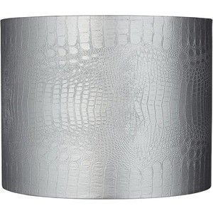 Metallic silver lamp shade sevenstonesinc chic metallic silver lamp shades and rectangular aloadofball Image collections