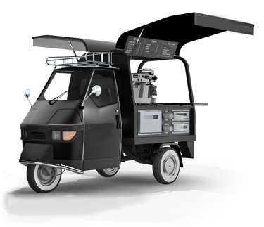 cd98774655823e Piaggio Ape 50 - Mobile coffee cart... new business