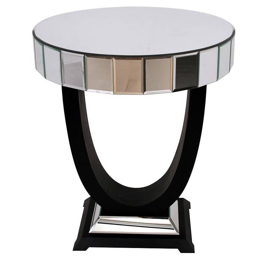Art Deco Side Table (Mirrored Furniture Family K)