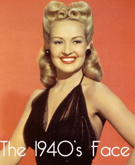 Gesichtskonturierung – 1940 Beauty Secrets