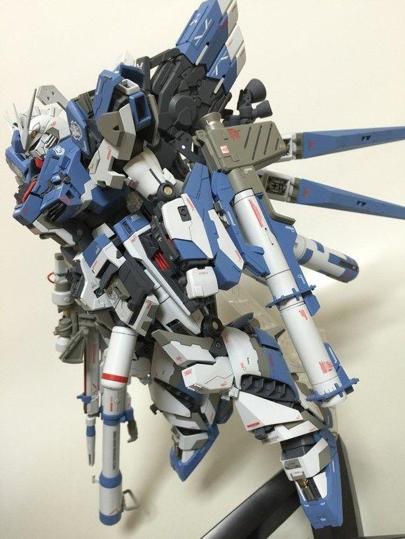 MG 1/100 Hi Nu Gundam Ver. Ka T.F.C. - Customized Build Modeled by tannu