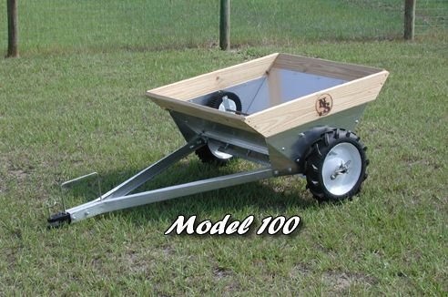 """For those smaller loads of #!it,""""Newer Spreader"""" small farm manure spreader"""