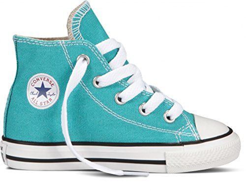 980e1200af2 Converse Unisex Baby Chuck Taylor All Star Hi Tops (Inf Tod) -  Mediterranean - 5 Infant Converse http   www.amazon.com dp B00H2YJ9XQ ref   ...