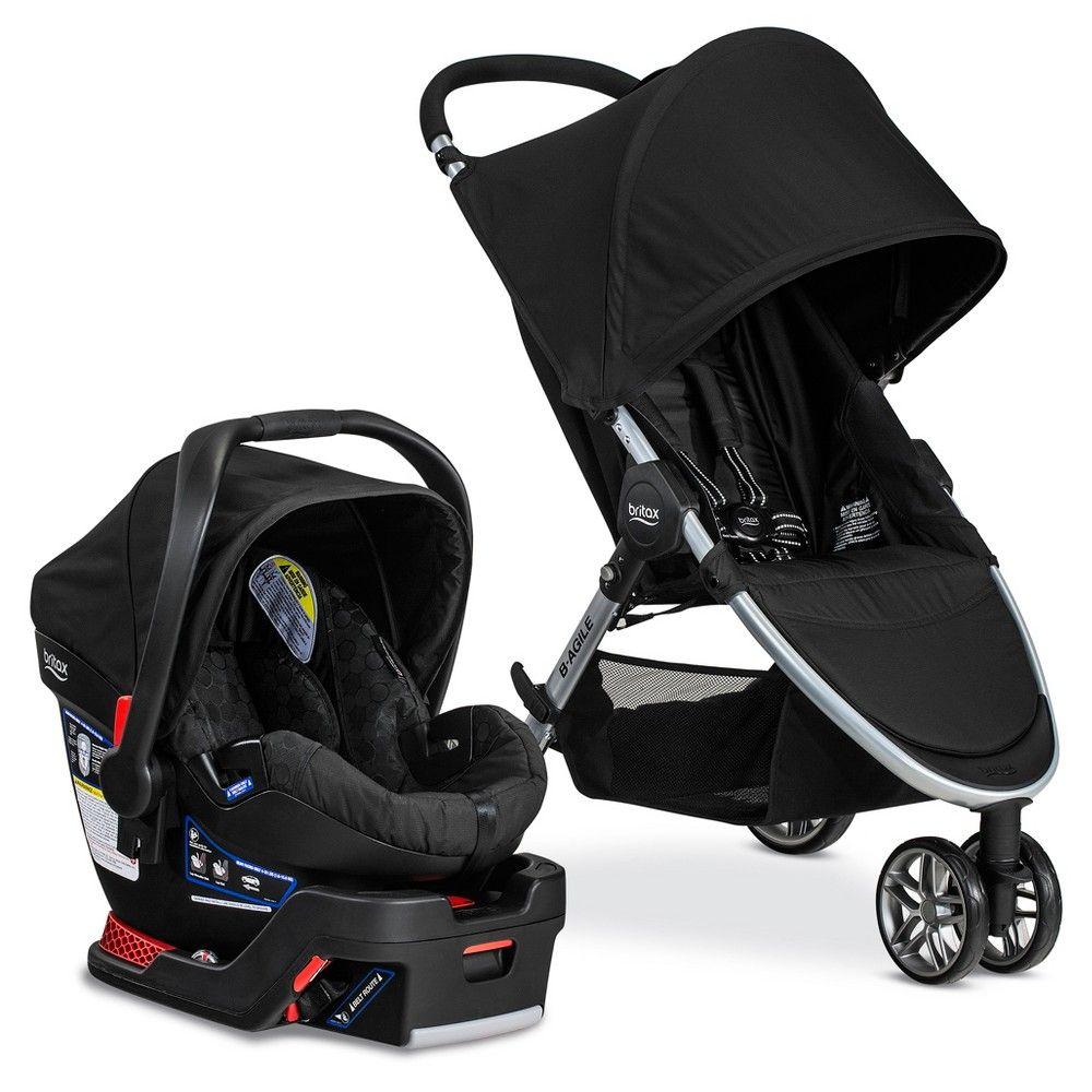 Britax BAgile & BSafe 35 Travel System Car seat