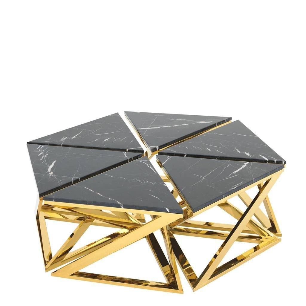 Marble Top Gold Coffee Table Set Eichholtz Galaxy 1 Eichholtz Oroa Gold Coffee Table Coffee Table Setting Coffee Table