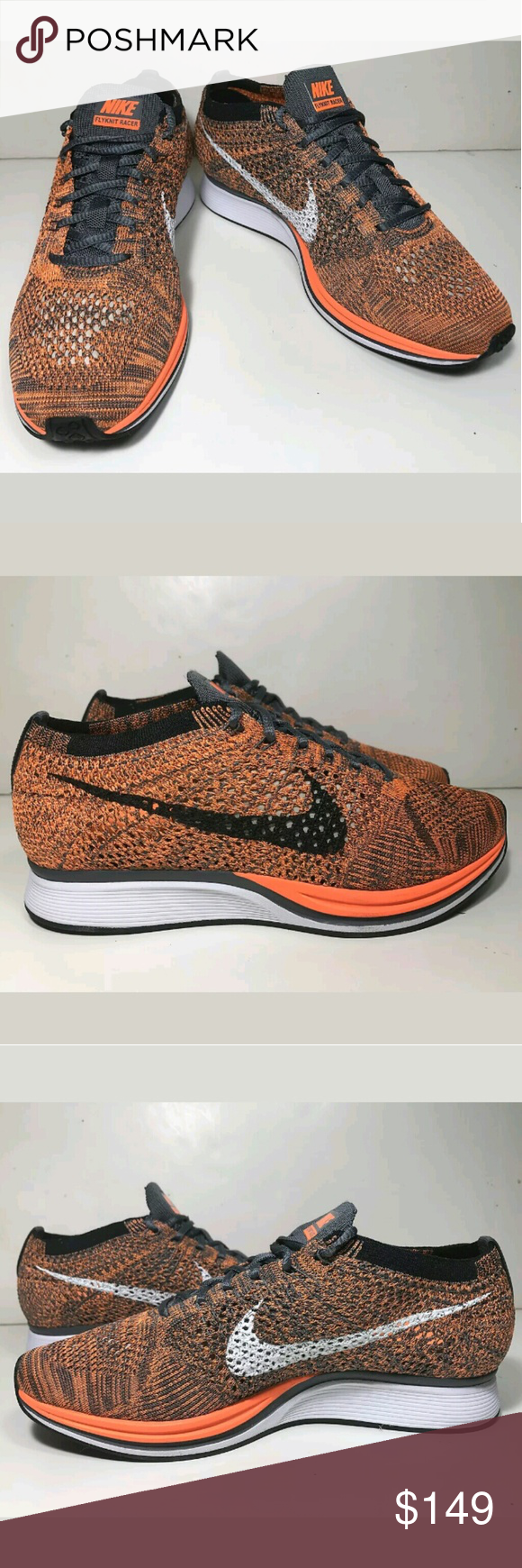 ba600678e892 Brand New Nike Flyknit Racer Cheetos Edition Brand new 100% authentic. Size  men s 6.5 equivalent to women s 8. Comes with box but no lid.