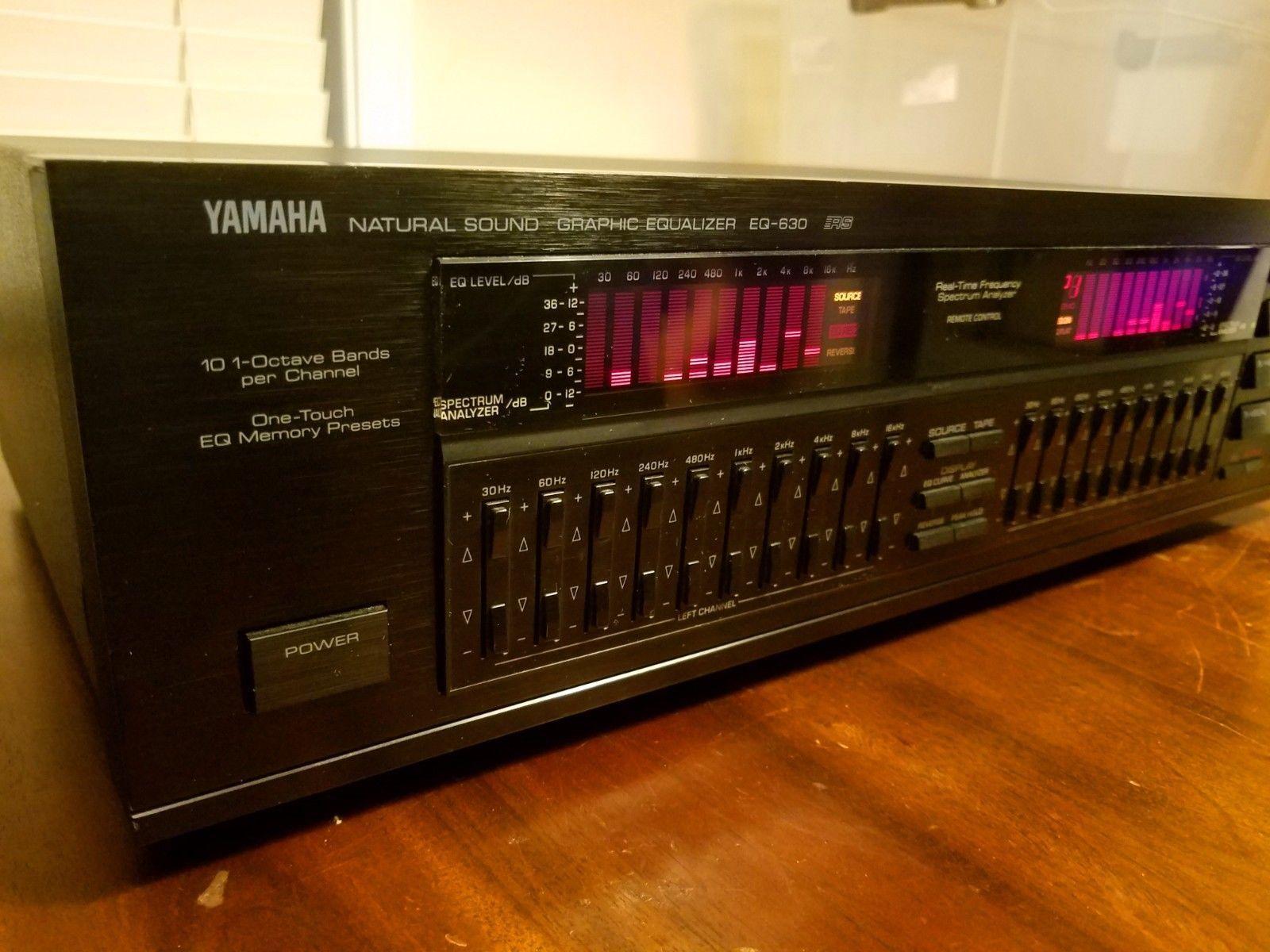 Yamaha EQ-630 Natural Sound Graphic Equalizer | eBay | Audio Graphic