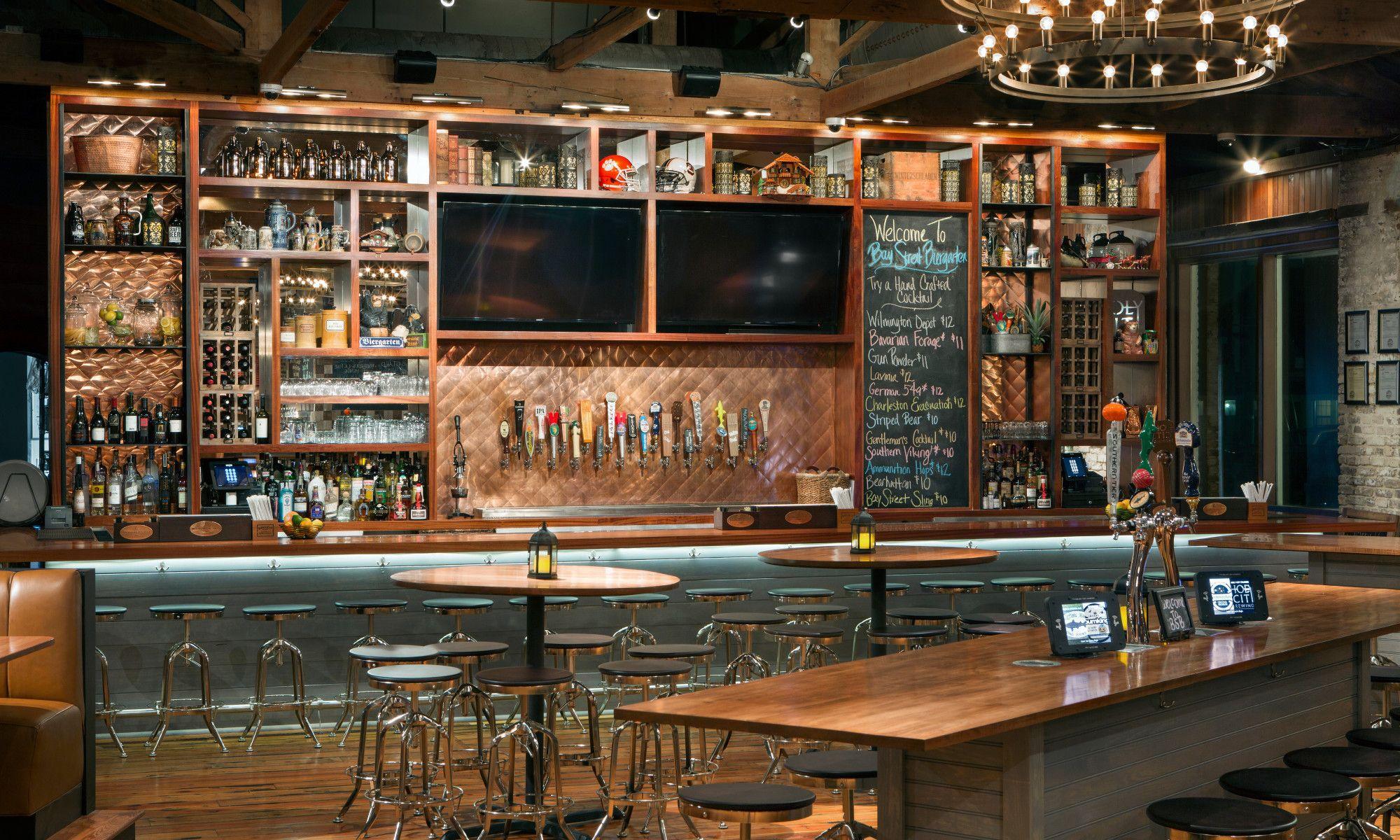 Tour Bay Street Biergarten Charleston Sc Craft Beer Bar Bar