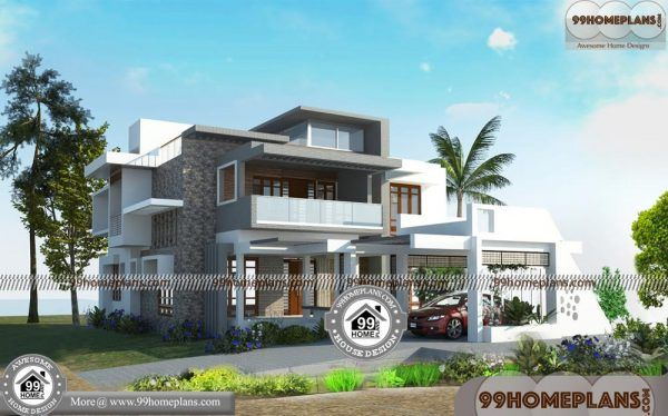 Modern indian homes online plans storey house with floor plan also rh pinterest