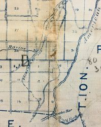 1913 Placer County Map showing the old grade of the Sacramento ...