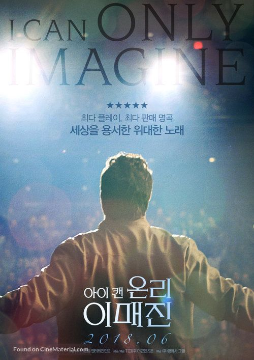 I Can Only Imagine South Korean movie poster | Full movies ...