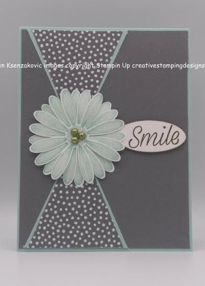 Stampin' Up! Country Floral Birthday Card