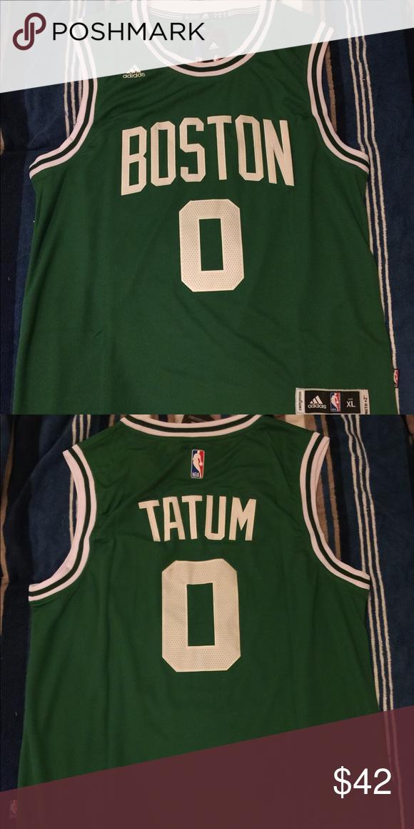 more photos 6a5a5 4ecc3 Jayson Tatum #0 3rd pick draft Celtics jersey 100% brand new ...