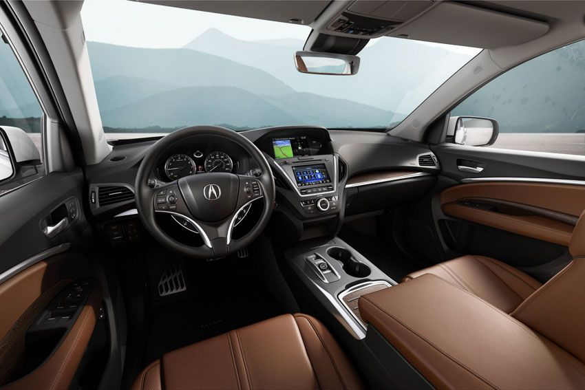 2017 Acura MDX AWD Advance | Flamboyant, Indulging Interior view of the 2017 Acura MDX AWD Advance.    With all the time we families spend in our cars, it makes sense to find one that fits us and throws in lots of luxury, as well. Think about it: you buy 1,200-thread-count Egyptian cotton sheets for your bed because you spend http://siliconeer.com/current/2017-acura-mdx-awd-advance-flamboyant-indulging/