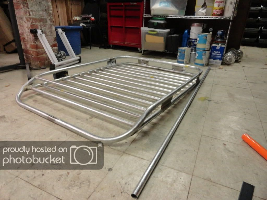 Build your own Roof Rack for 70 Truck