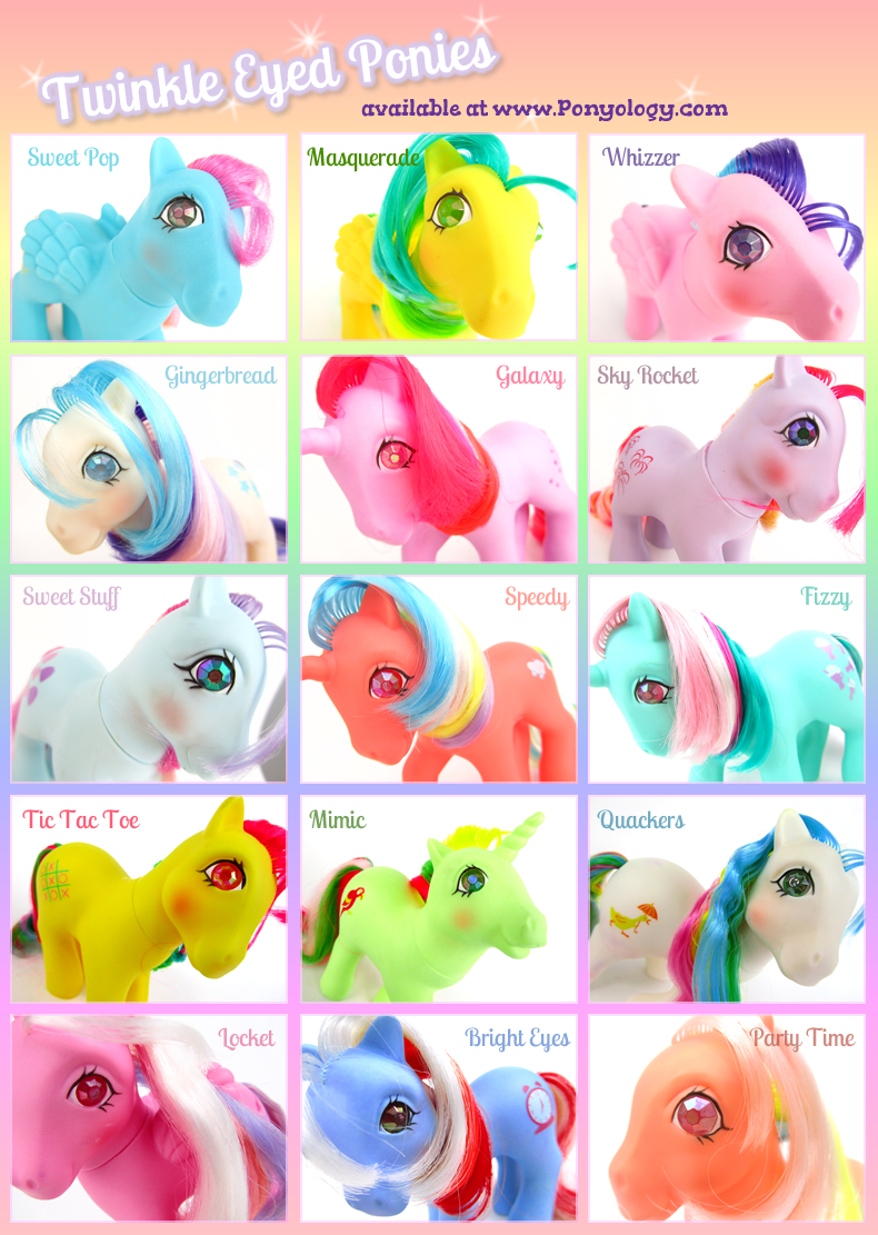 - Twinkle Eyed My Little Pony Ponies. I Had Real Horses Growing Up