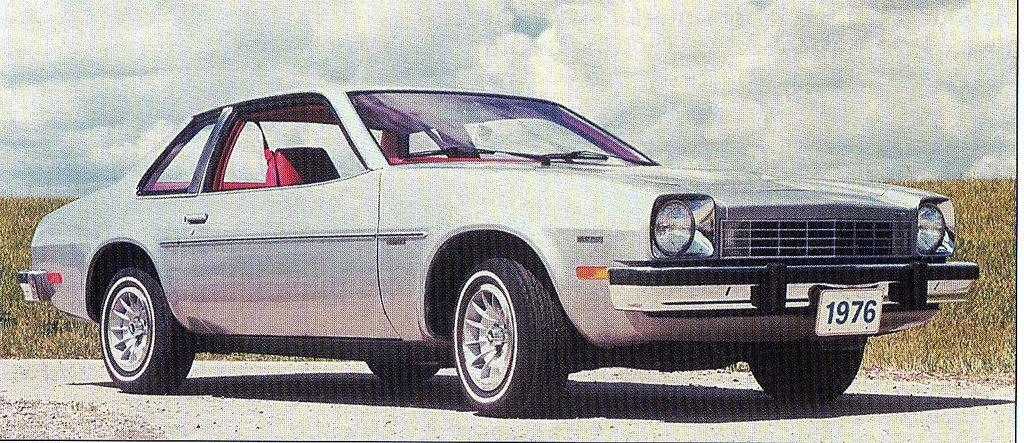 1976 Chevrolet Monza Chevrolet Monza Monza Chevrolet