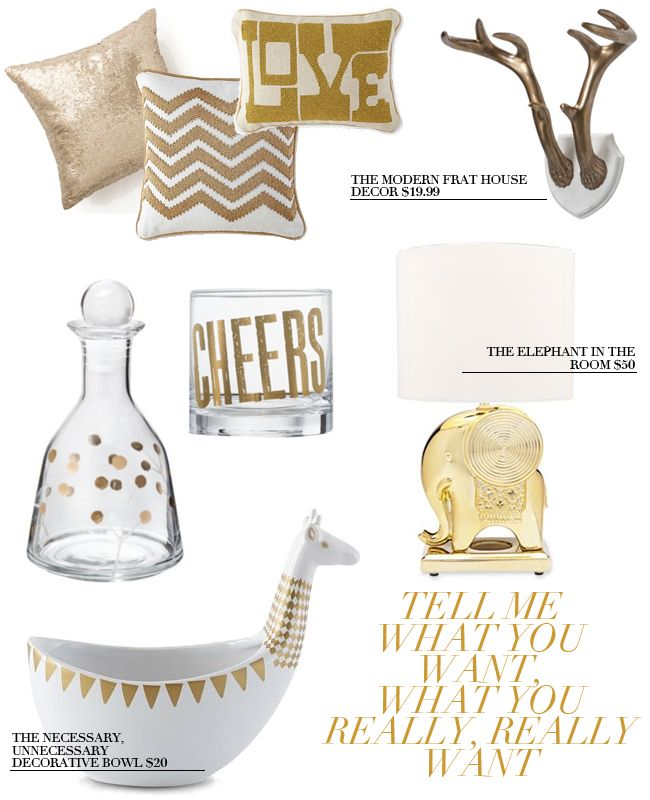gold home decor wishlist target threshold happy chic - Gold Home Decor