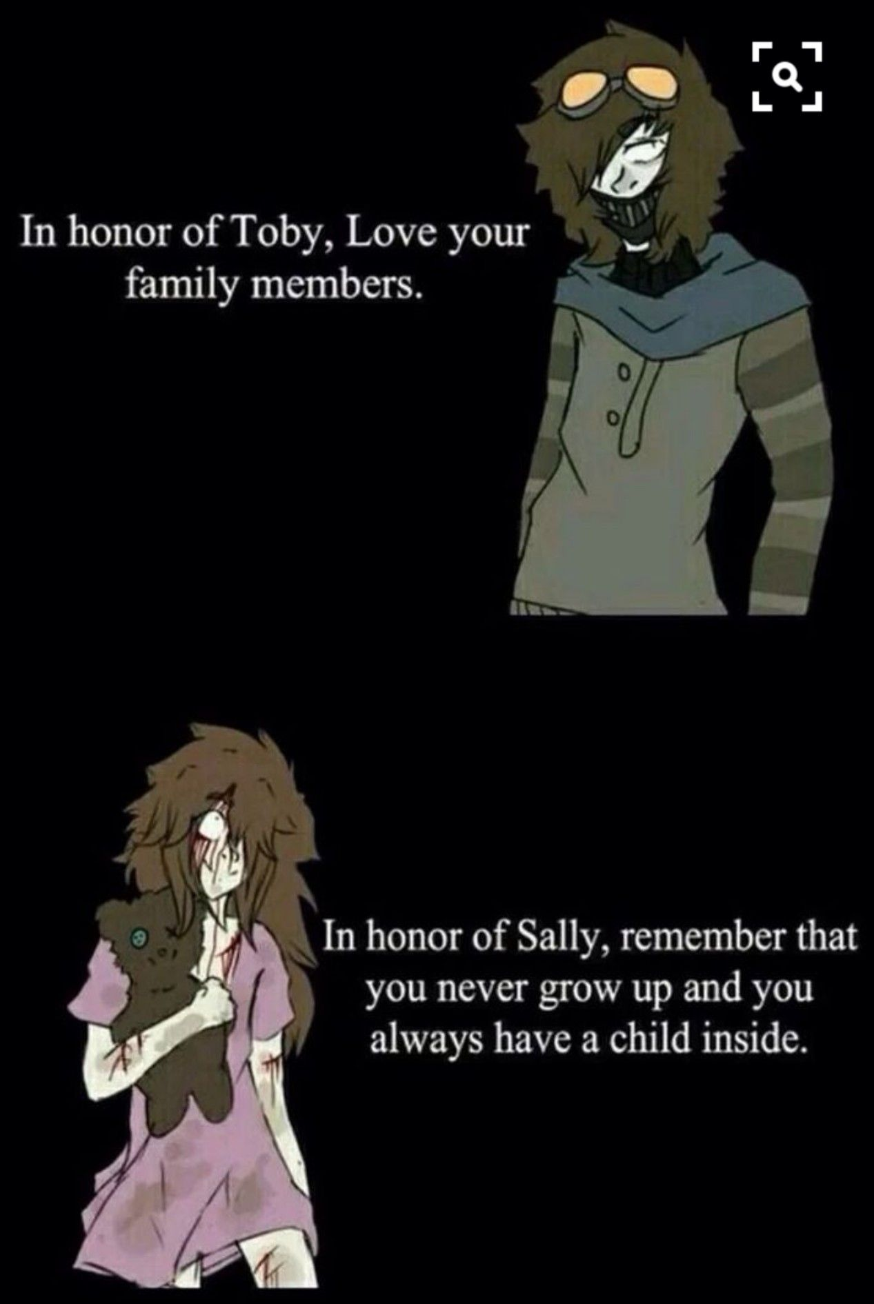 Pin by ping chow on bla Love your family, Creepypasta, Memes