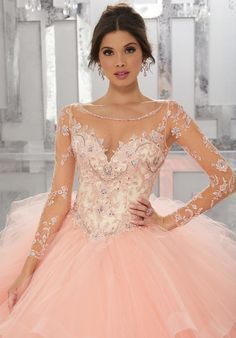 331c3c74c Mori Lee Vizcaya Quinceanera Dress Style 89142 in 2019
