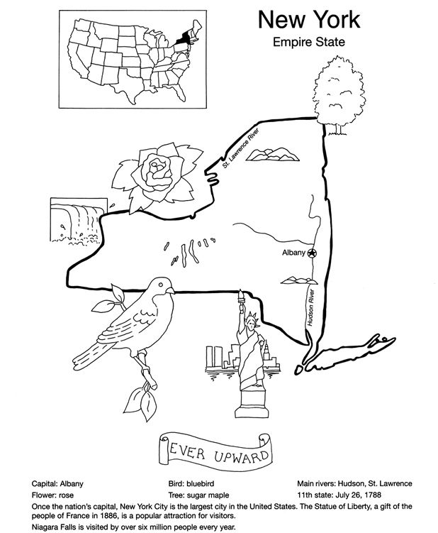 Welcome To Dover Publications United States Coloring Book Flag
