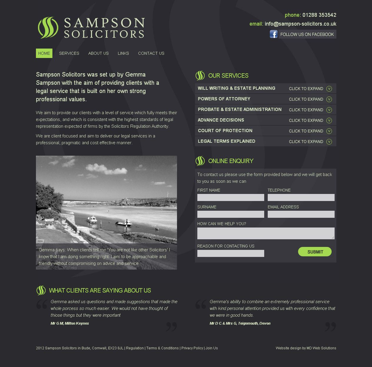 Pin On Website Design In Bude Cornwall